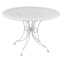1900 Round Table 117cm  - Cotton White