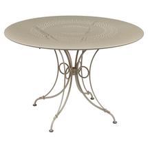 1900 Round Table 117cm  - Nutmeg