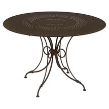 1900 Round Table 117cm  - Russet