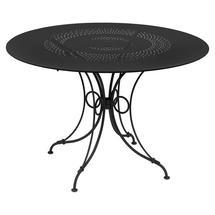 1900 Round Table 117cm  - Liquorice