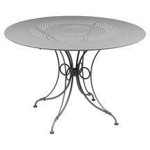 1900 Round Table 117cm  - Steel Grey