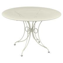 1900 Round Table 117cm - Clay Grey