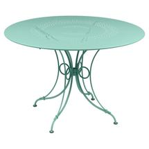 1900 Round Table 117cm  - Lagoon Blue