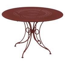 1900 Round Table 117cm  - Chilli