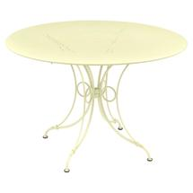 1900 Round Table 117cm  - Frosted Lemon