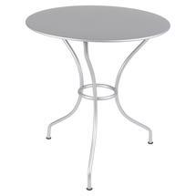 Opera+ 67cm Round Table - Steel Grey