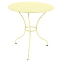 Opera+ 67cm Round Table - Frosted Lemon