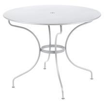 Opera+ 96cm Round Table - Cotton White