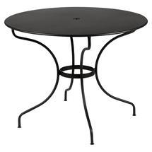 Opera+ 96cm Round Table - Liquorice