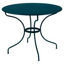 Opera+ 96cm Round Table - Acapulco Blue