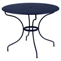 Opera+ 96cm Round Table - Deep Blue