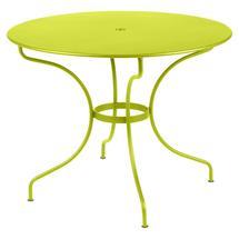 Opera+ 96cm Round Table - Verbena Green