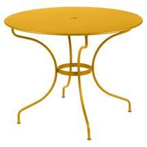 Opera+ 96cm Round Table - Honey
