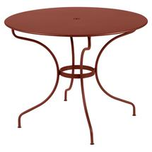 Opera+ 96cm Round Table - Red Ochre