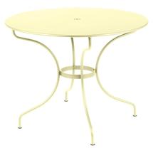 Opera+ 96cm Round Table - Frosted Lemon