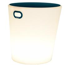 Inouï LED Illuminated Stool - Acapulco blue