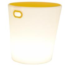 Inouï LED Illuminated Stool - Honey
