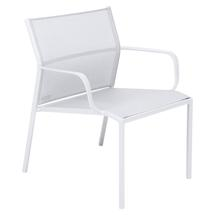 Cadiz Low Armchair - Cotton White
