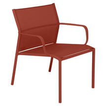 Cadiz Low Armchair - Stereo Red Ochre