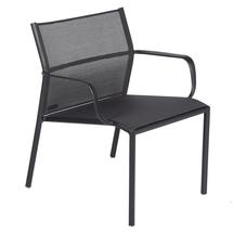 Cadiz Low Armchair - Stereo Anthracite