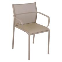 Cadiz Dining Chair with Arms - Nutmeg