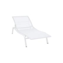 Alize Sunlounger - Cotton White