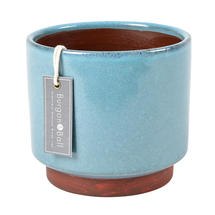 Speckled Glaze Indoor Planter - Large Blue