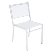 Costa Stacking Dining Chair - Cotton White