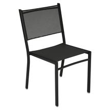 Costa Stacking Dining Chair - Liquorice