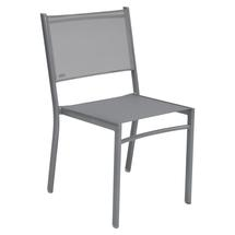 Costa Stacking Dining Chair - Steel Grey
