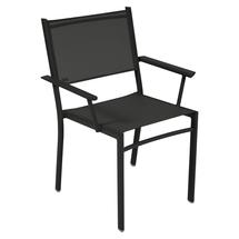 Costa Stacking Armchair - Liquorice