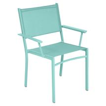 Costa Stacking Armchair - Lagoon Blue