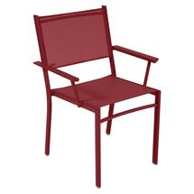 Costa Stacking Armchair - Chilli