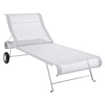 Dune Sunlounger - Cotton White