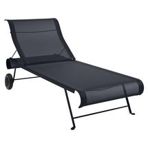Dune Sunlounger - Stereo Anthracite
