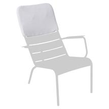 Luxembourg Low Armchair Headrest - Cotton White
