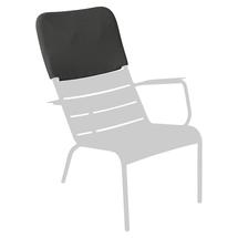 Luxembourg Low Armchair Headrest - Liquorice