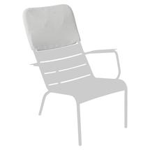 Luxembourg Low Armchair Headrest - Steel Grey