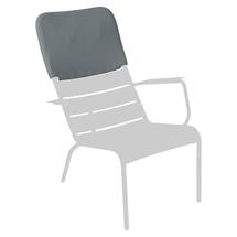 Luxembourg Low Armchair Headrest - Storm Grey