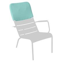 Luxembourg Low Armchair Headrest - Lagoon Blue