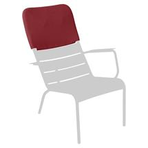 Luxembourg Low Armchair Headrest - Chilli