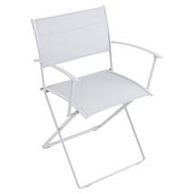 Plein Air Folding Armchair - Cotton White