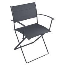 Plein Air Folding Armchair - Stereo Anthracite