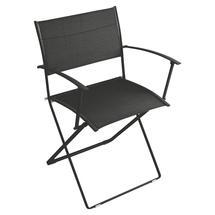 Plein Air Folding Armchair - Liquorice