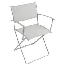 Plein Air Folding Armchair - Steel Grey