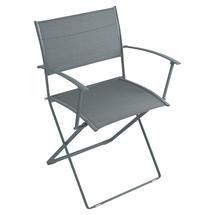 Plein Air Folding Armchair - Storm Grey
