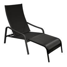 Alize Deckchair/Footrest - Liquorice