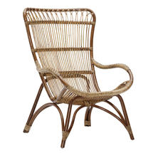Monet High Back Chair - Antique