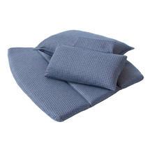 Breeze Highback Chair Cushion Set - Blue