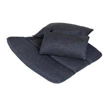 Breeze Highback Chair Cushion Set - Dark Blue